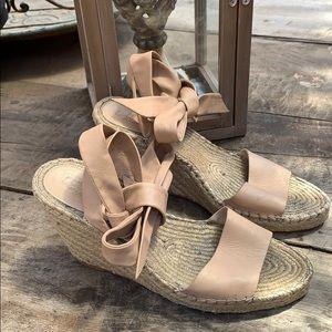 Loeffler Randall Harper wedge sandals size 8.5